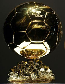 Trophy ballon d'or